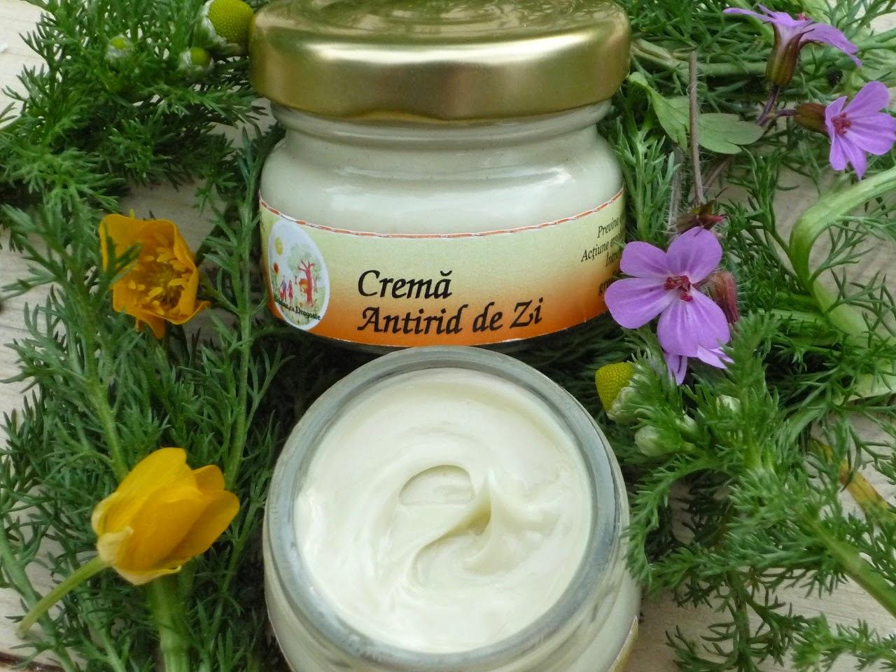 Crema Antirid Hidratanta- Formula Noua