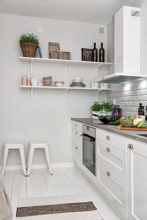 Una cocina tipicamente nordica decoraci n - Cocinas nordicas ...