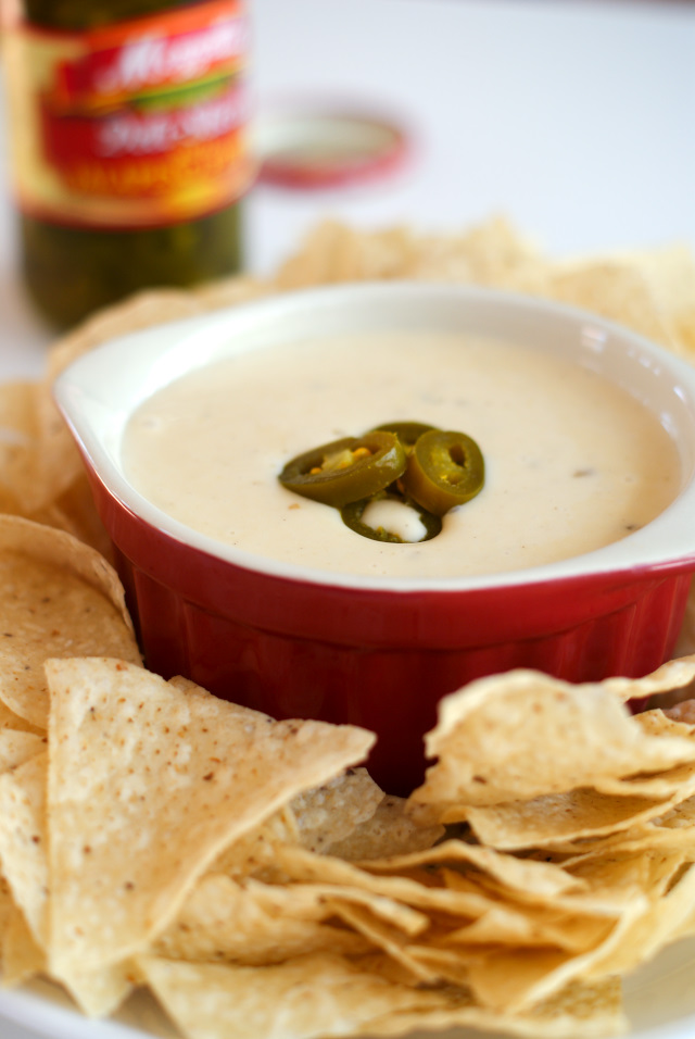 This Crock Pot Queso Blanco Dip is my version of the popular Mexican white cheese dip that is served at your favorite Mexican restaurant!  You won't believe how easy this dip is to make at home in your crock pot!