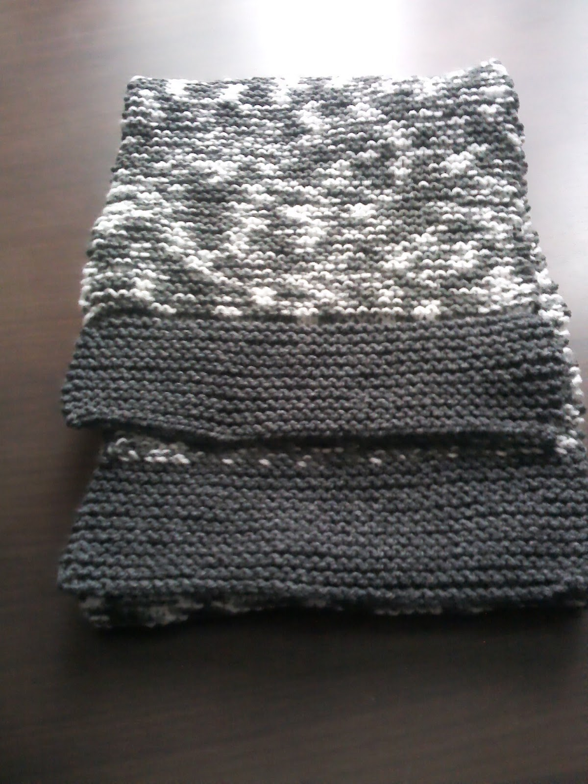 The Nutty Knitter: Hat and Muffler