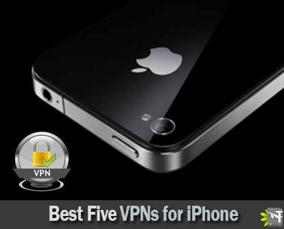 Best 5 VPNs for iphone