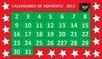calendario de adviento 2013