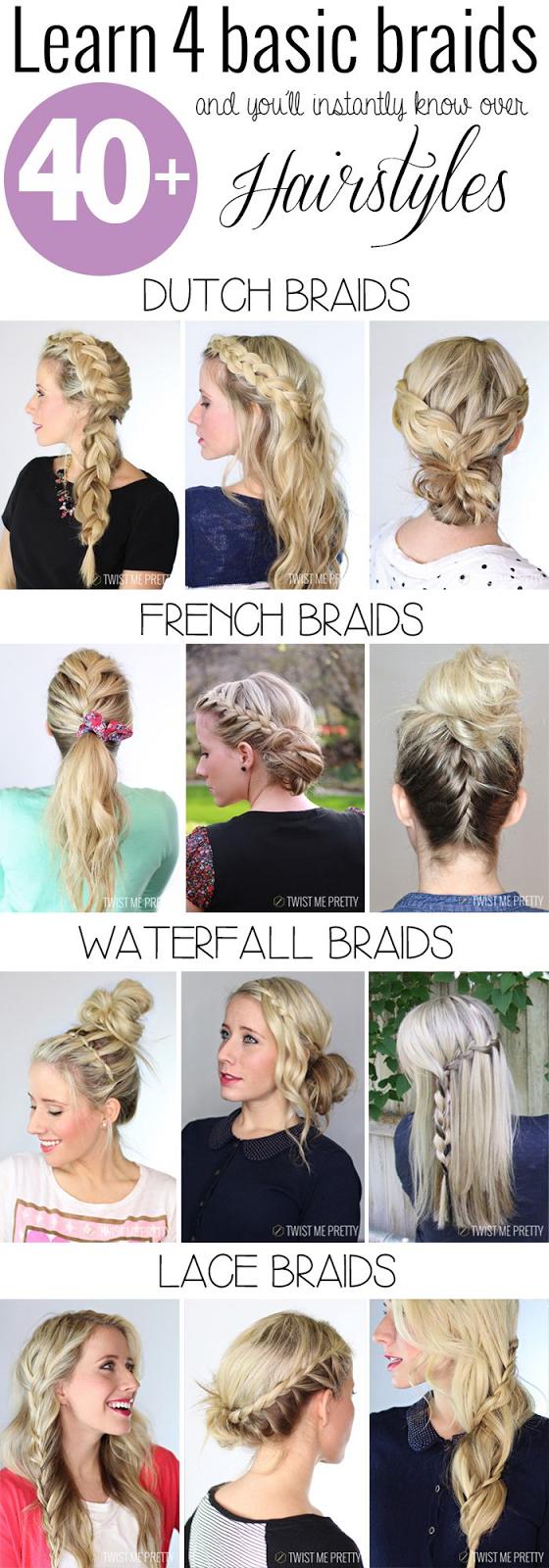 Learn Your 4 Basic Braids
