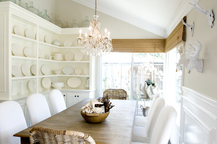 Farrow and Ball Shaded White on Modern Country Style
