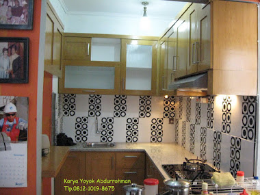 Kitchen set minimalis Imam Farid