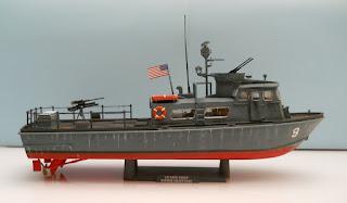 patrullera fluvial de la guerra de Vietnam