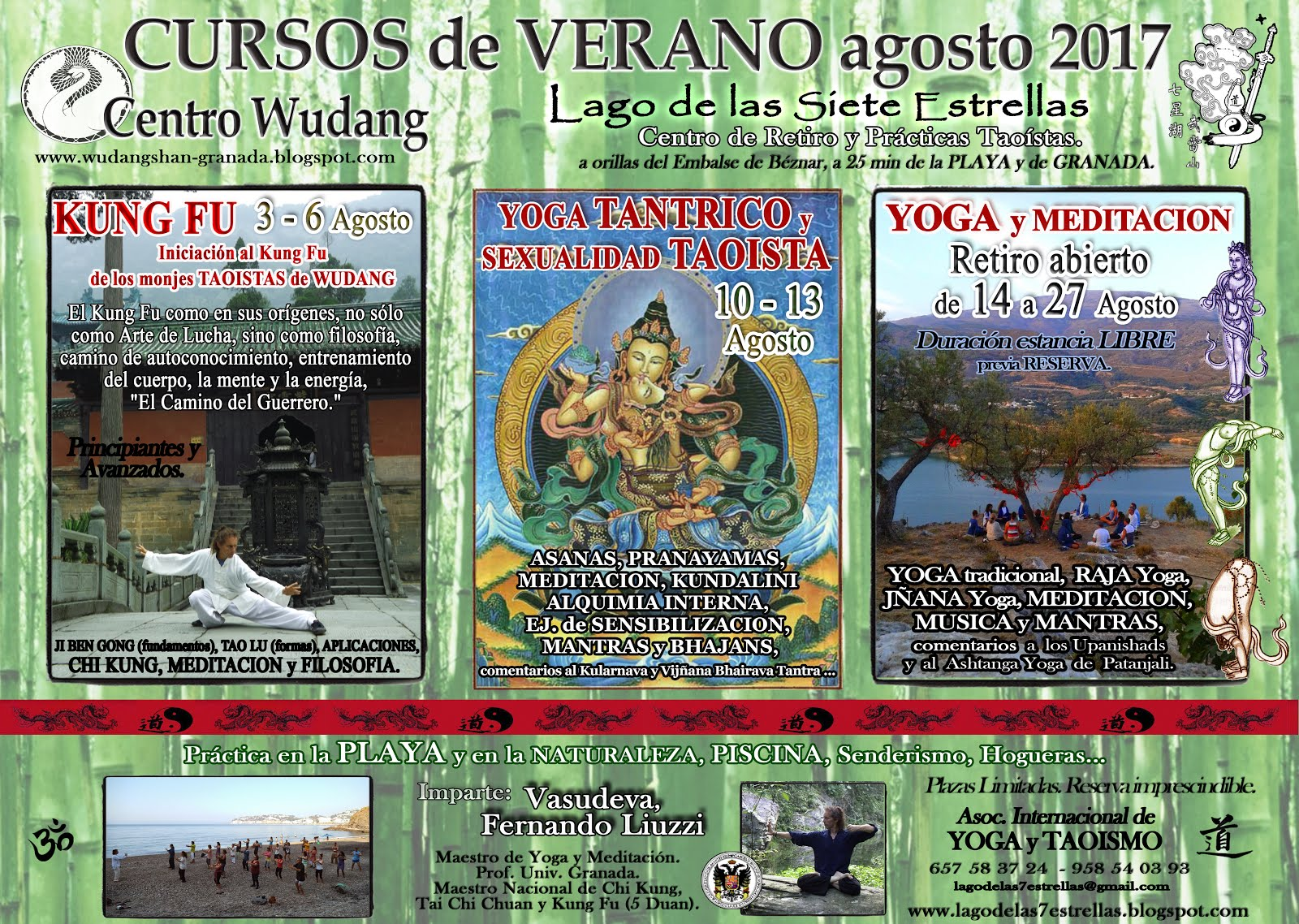 Cursos de Verano 2017: Agosto