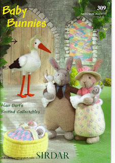 Вязаные зайцы Baby Bunnies