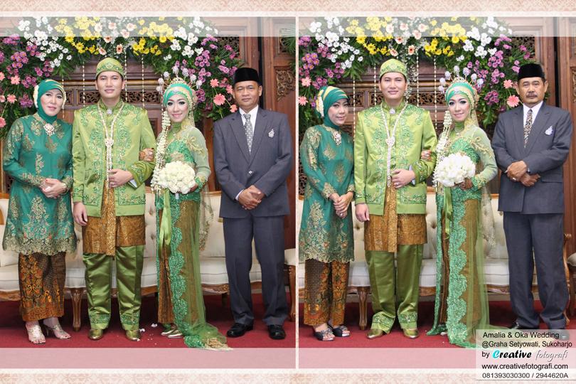 foto keluarga pernikahan