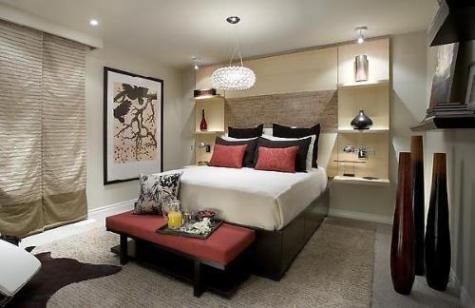 Decorar el dormitorio principal buenas ideas decorar - Decoracion de dormitorio principal ...