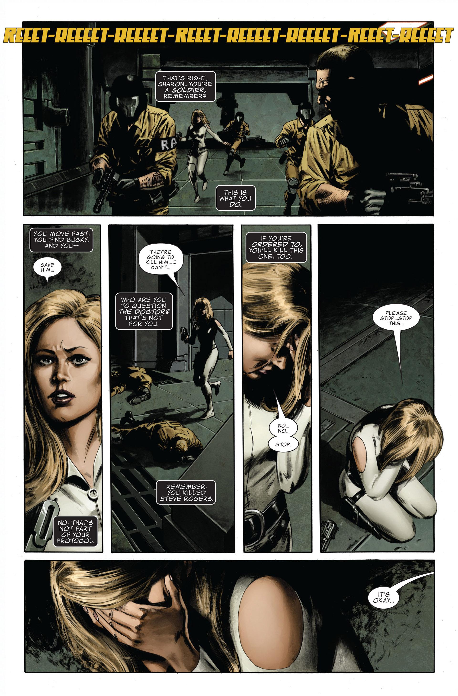 Captain America (2005) Issue #32 #32 - English 16