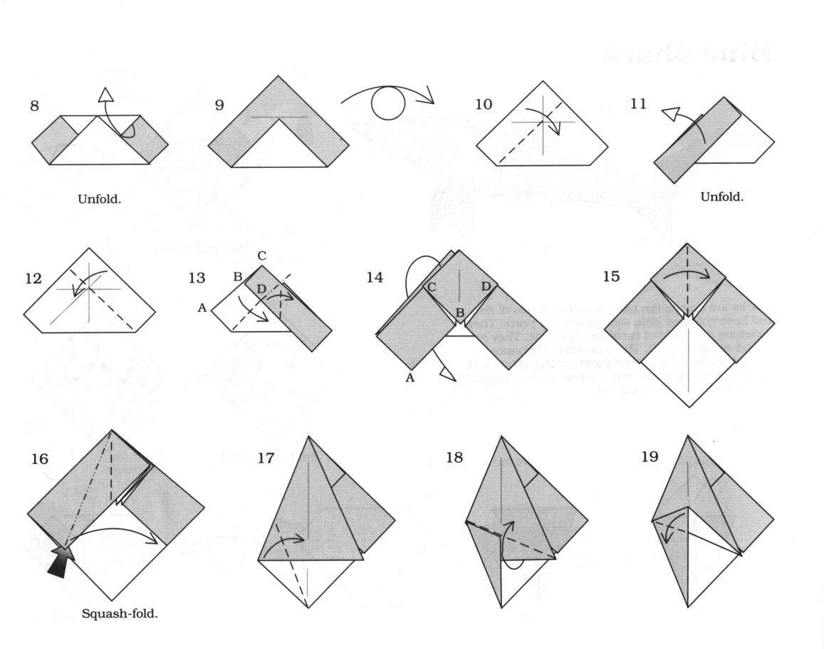 Origami Blue Shark Diagram Wiring And Ebooks Money Diagrams El Arte Del Rh Elartedelorigami Blogspot Com Great White