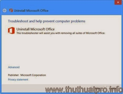 Cách gỡ bỏ triệt để Microsoft Office 2013 hoặc Office 365