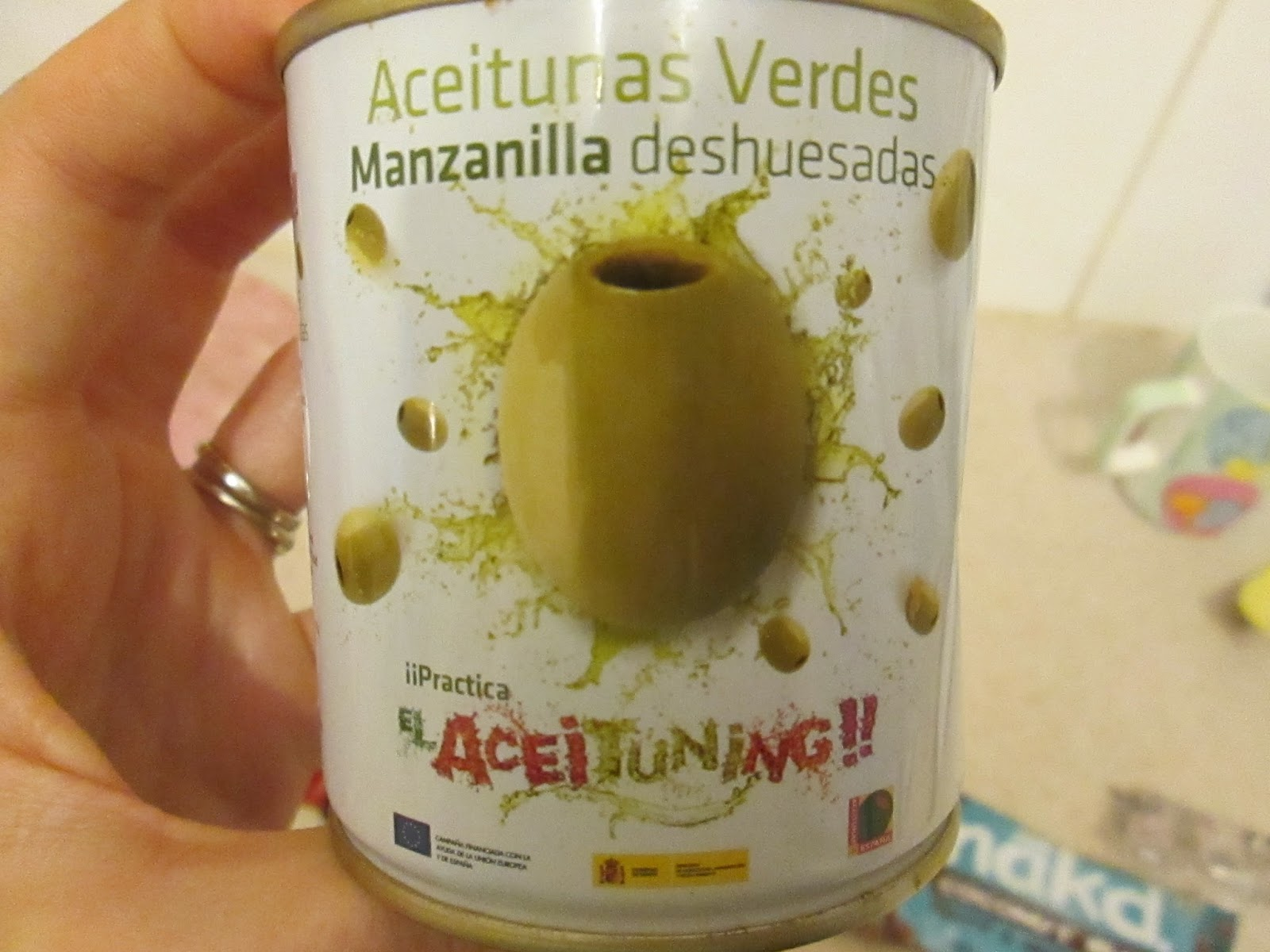 Authentic Spanish green olives