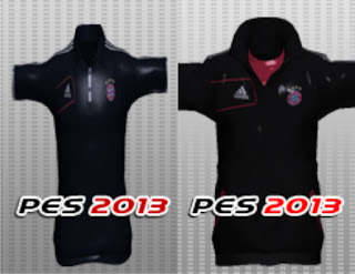 Polo Shirt & Jaket Manager Bayern Munchen PES 2013 by LeePass