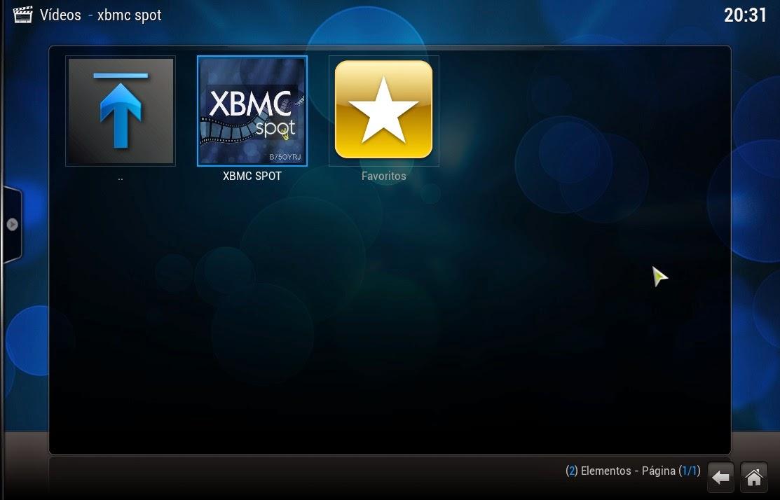 XBMC SPOT