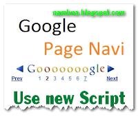 Phân trang kiểu google sử dụng script mới