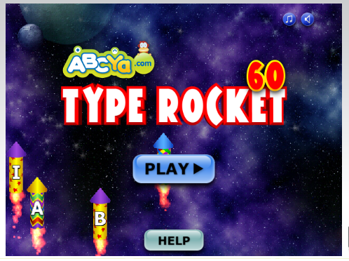 http://www.abcya.com/typing_rocket_junior.htm