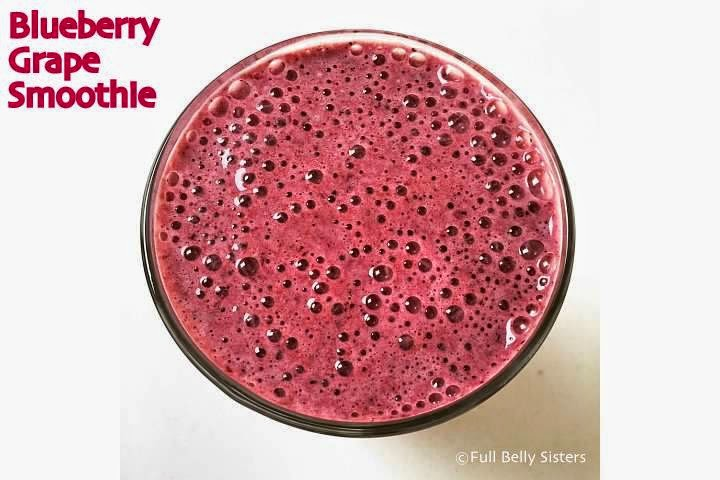 Blueberry Grape Smoothie Recipe — Dishmaps