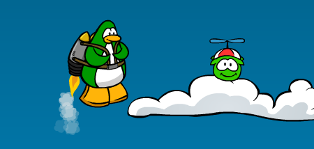 Club Penguin Jet Pack Adventure Green Puffle Cheats