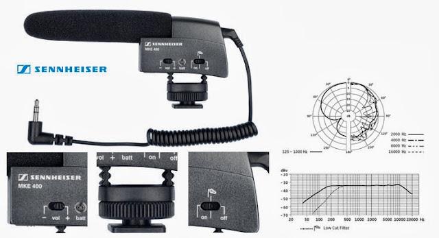 Le microphone Sennheiser MKE 400