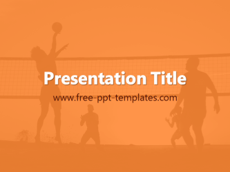gallery for gt volleyball background powerpoint