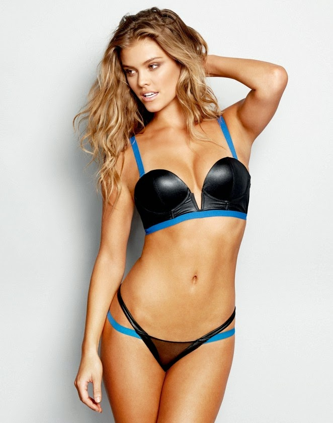 Beach Bunny Swimwear and Lingerie Lookbook 2014 featuring Nina Agdal