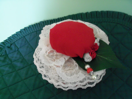 Vintage Rose Pin Cushion