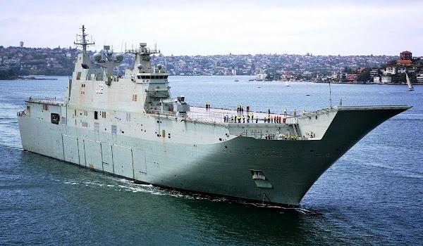 HMAS Canberra (LHD 02). PROKIMAL ONLINE Kotabumi Lampung Utara