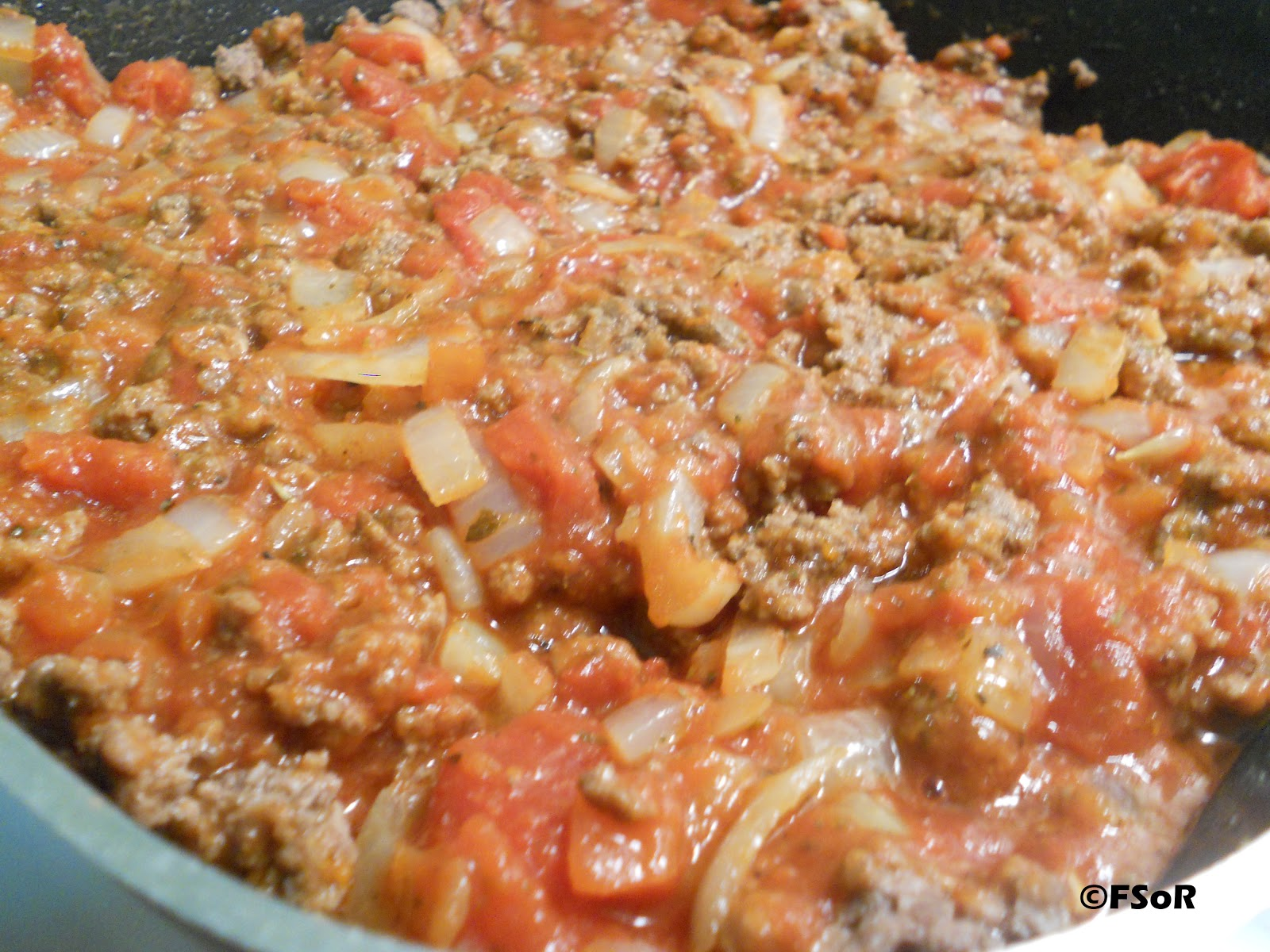 Fantastical Sharing of Recipes: Penne Pasta with Meat Sauce