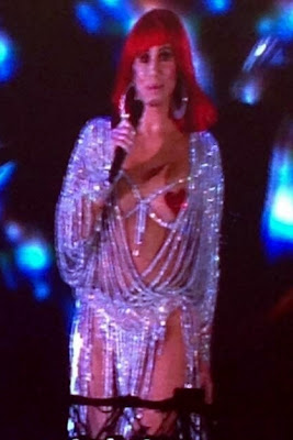 Cher in her revealing 'Believe' outfit