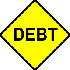 Become debt free as soon as possible