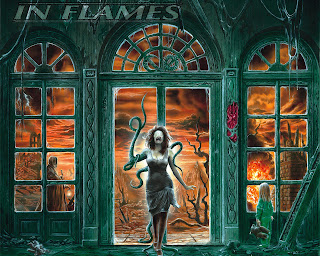 In Flames Dark Gothic Wallpaper