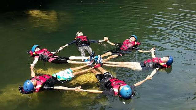 Body Rafting Green Canyon Narsis
