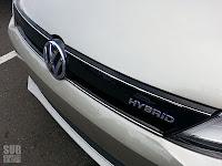 Volkwagen Jetta Hybrid grille