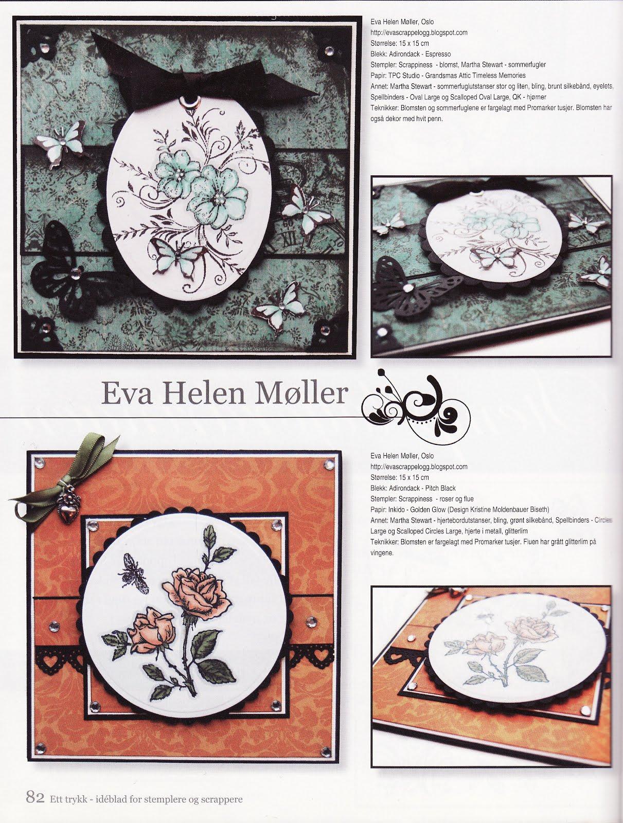 kortene mine var med i Bladet Ett Trykk Jan. 2011