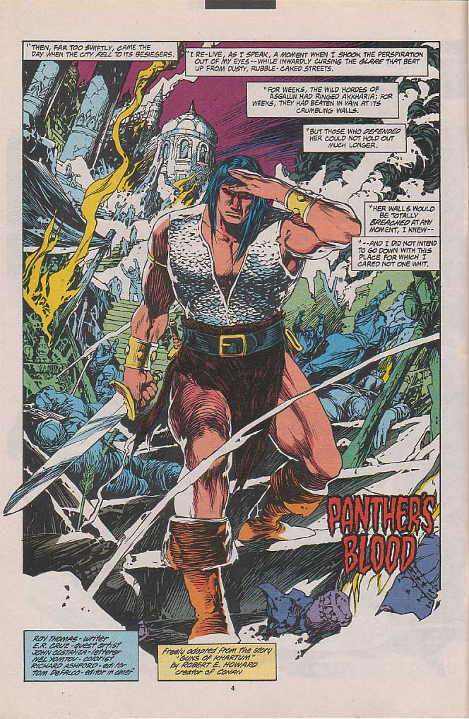 Conan the Barbarian (1970) Issue #262 #274 - English 4