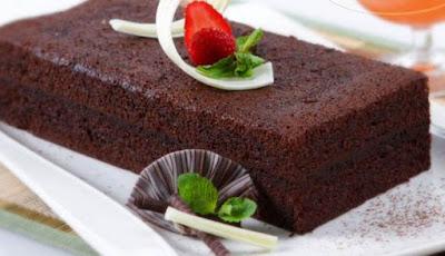 Resep kue brownies kukus coklat sederhana enak