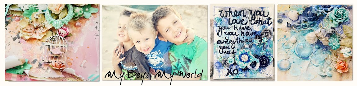 My boys, my world!