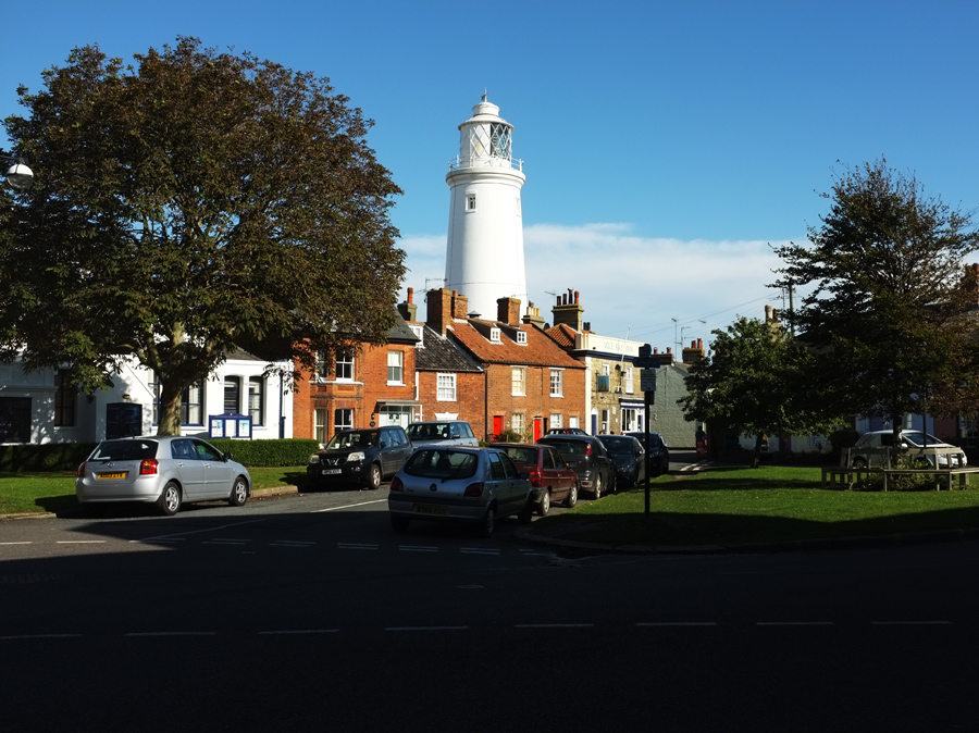 Lighthouse,  Southwold Suffolk - Photograph by Tim Irving