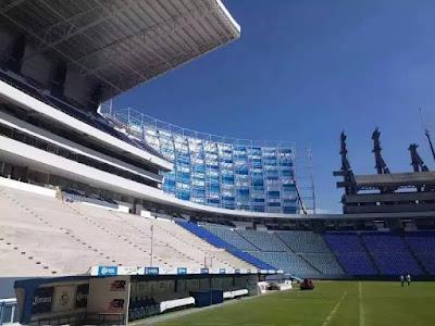 Estadio Cuauhtemoc de Puebla