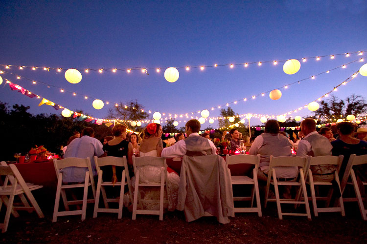 Simple Stunning Outdoor Wedding Decoration 2015