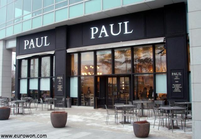 Entrada exterior de Paul en Seúl