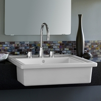 Ada wheelchair accessible bathroom sinks for vanities for Wheelchair accessible sink
