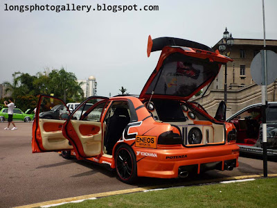 Modified Wira Aeroback autoshow