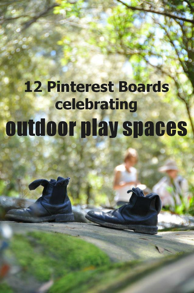 Let the children play 12 top outdoor play space pinterest boards - Ideas for small outdoor spaces set ...