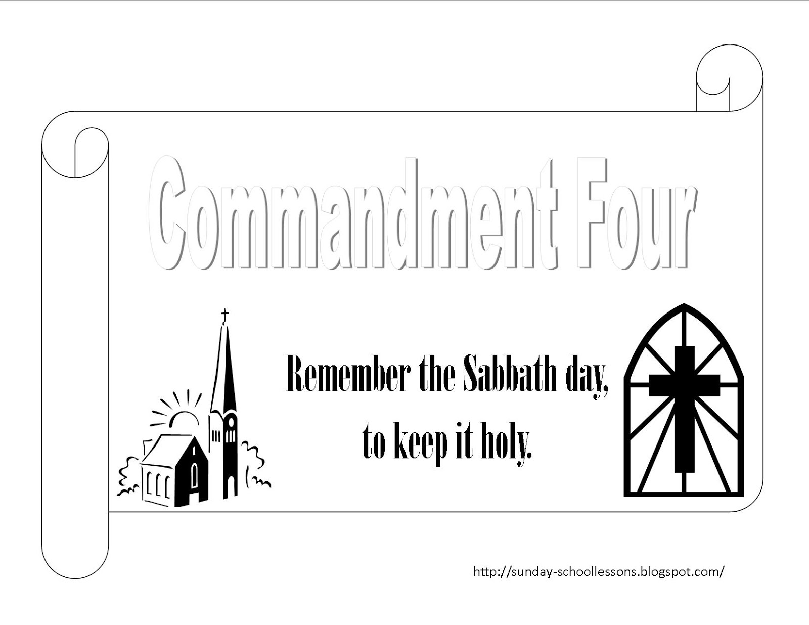 Sunday school lessons of plenty 10 commandments for 10 commandment coloring pages