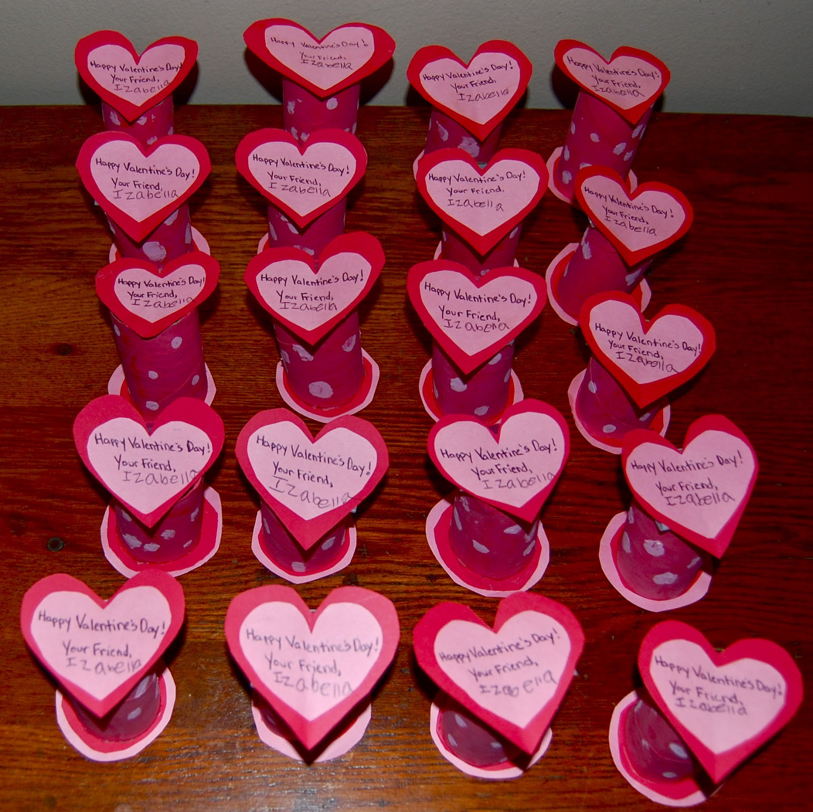 DIY Eco Friendly Valentines (Repurposed Paper Towel and Toilet ...