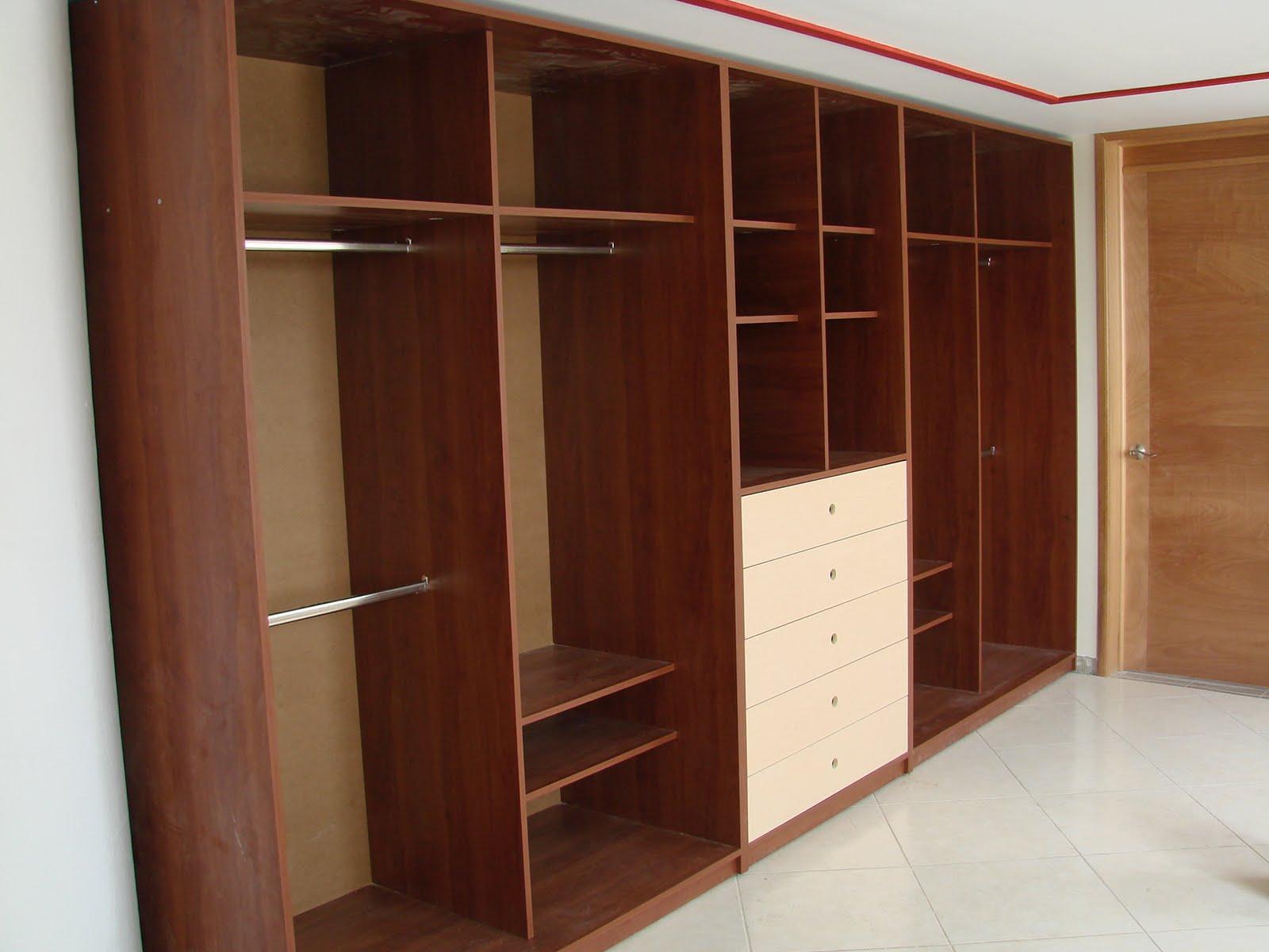 Muebles de melamina for Diseno muebles melamina