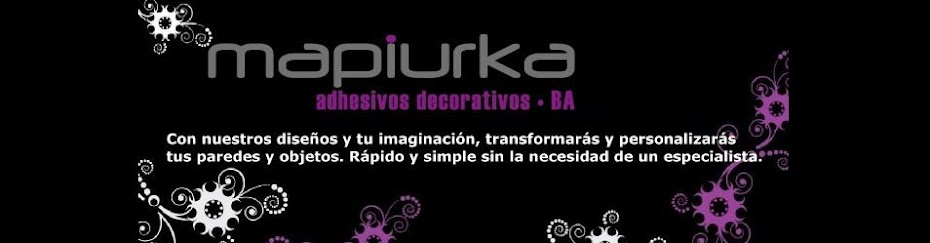 Mapiurka - Adhesivos Decorativos BA
